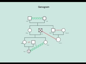 Genogram example - HL