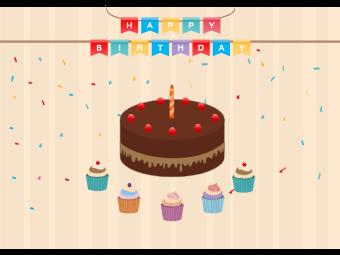 Birthday Card Example