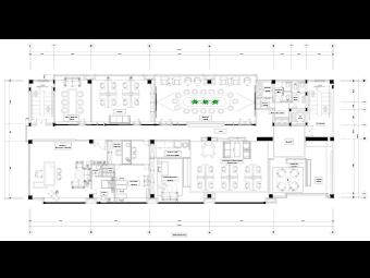 Large Office Floor Plan