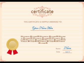 Career Certificate