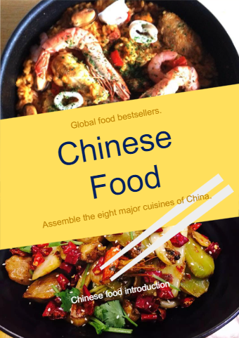 Chinese Food Book Cover