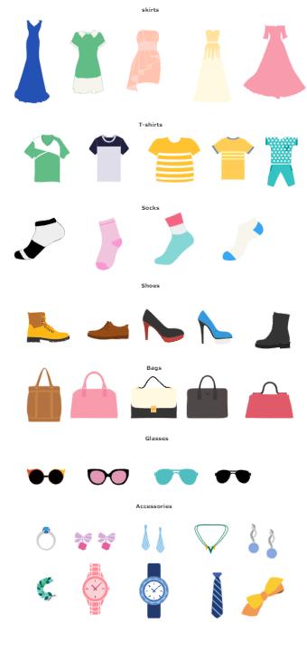 Fashion Design Figures Template