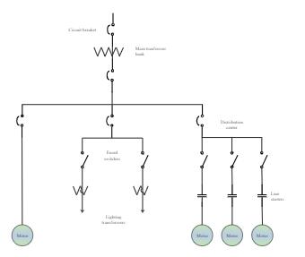 Motor Lighting Transformer Wiring Diagram