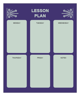 The Weekly Lesson Plan
