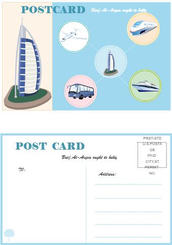 Postcard Dubai