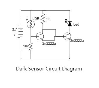 Dark Sensor Circuit Diagram