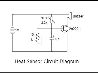 Heat Sensor Circuit Diagram