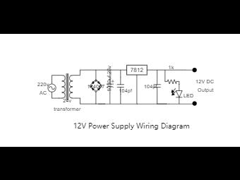 12V Power Supply Wiring Diagram