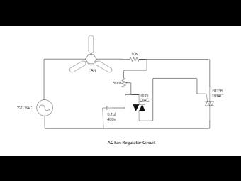 AC Fan Regulator Circuit Wiring