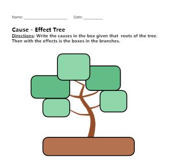 Tree Graphic Organizer