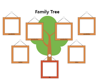 Family Tree Graphic Organizer