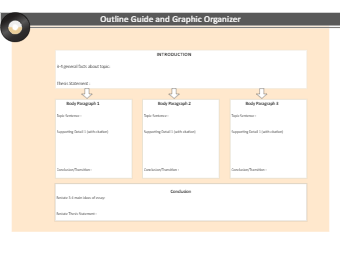 Outline Guide and Graphic Organizer