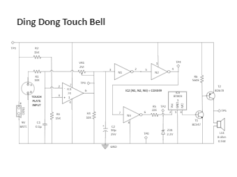Ding Dong Touch Bell