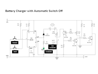 Battery Charger with Automatic Switch Off