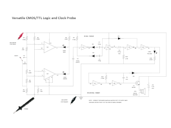 TTL Logic and Clock Probe