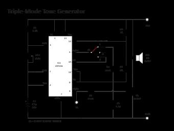 Triple-Mode Tone Generator
