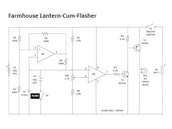 Farmhouse Lantern-Cum-Flasher