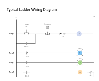 Typical Ladder Electrical Wiring Diagram