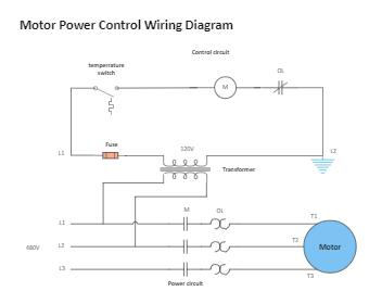 Motor Power Control Wiring Diagram