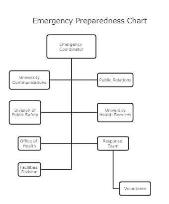 Emergency Preparedness Chart Template