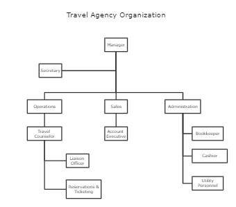 Travel Agency Organization Template
