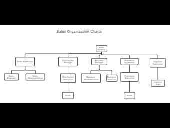 Sales Organization Chart Template