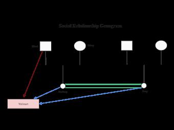 Social Relationship Genogram