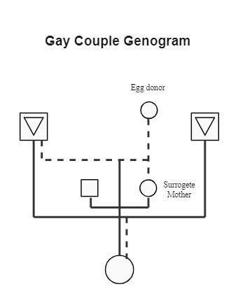 Gay Couple Genogram