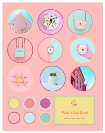 Pastel Mood Board