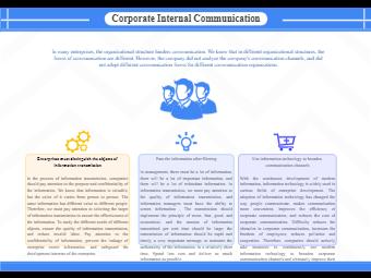 Corporate Internal Communication