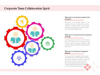 Corporate Team Collaboration Spirit