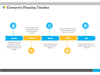 Enterprise Planning Timeline