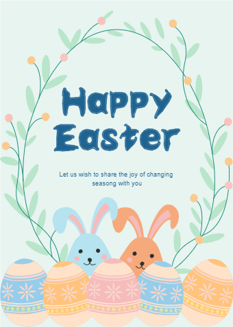 Easter Bunny Card Example