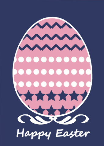 Easter Egg Card Example