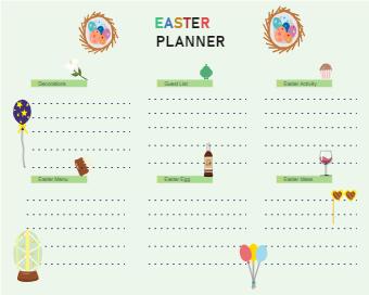 Easter Sunday Dinner Planner