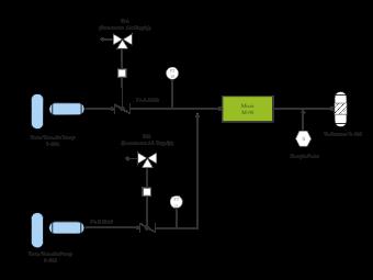 Air Supply Pump Process Diagram