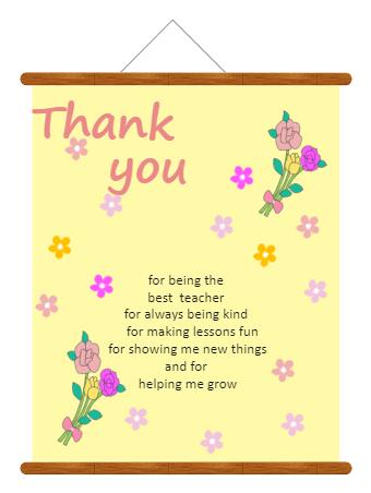 Teacher's Day Card Greeting