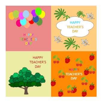 Teacher's Day Card Design