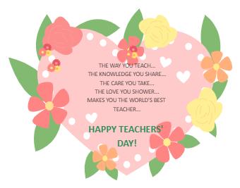 World Teacher's Day Quote