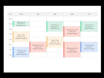 Berkeley Class Schedule