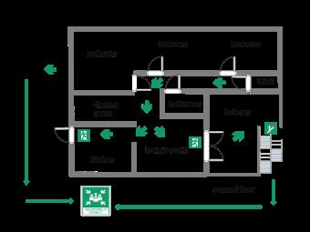 Potae_Second Floor Fire Evacuation Plan