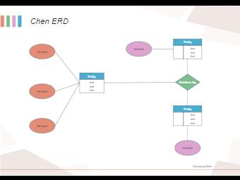 Blank Chen ER Diagram