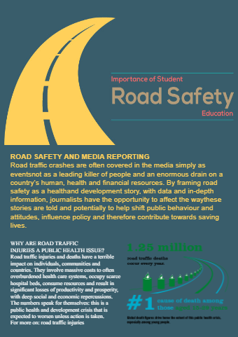 Road Safty Flyer