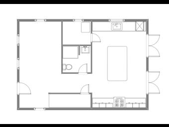 Hudson First Floor Plan