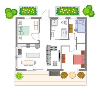 Dream Cottage Floor Plan