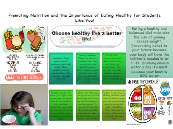 Promoting Nutrition Poster