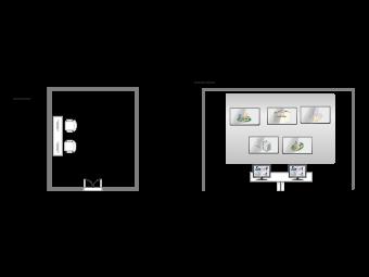 Monitoring Room Floor Plan