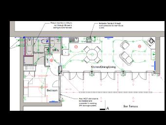 Electrical Wiring Plan in Detail