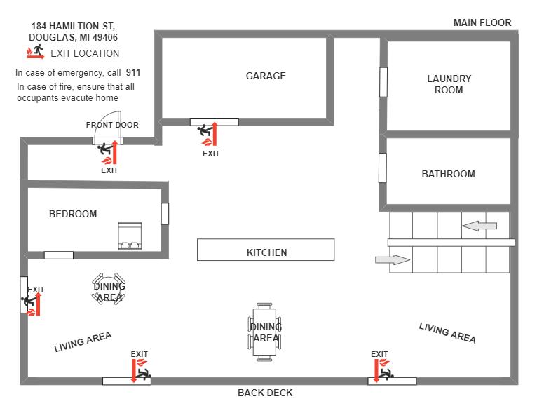Main Floor Escape Plan