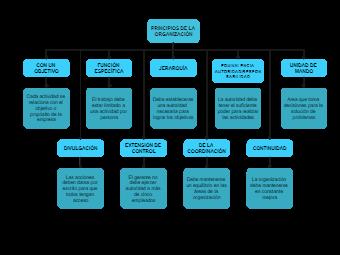 Principles of The Organization